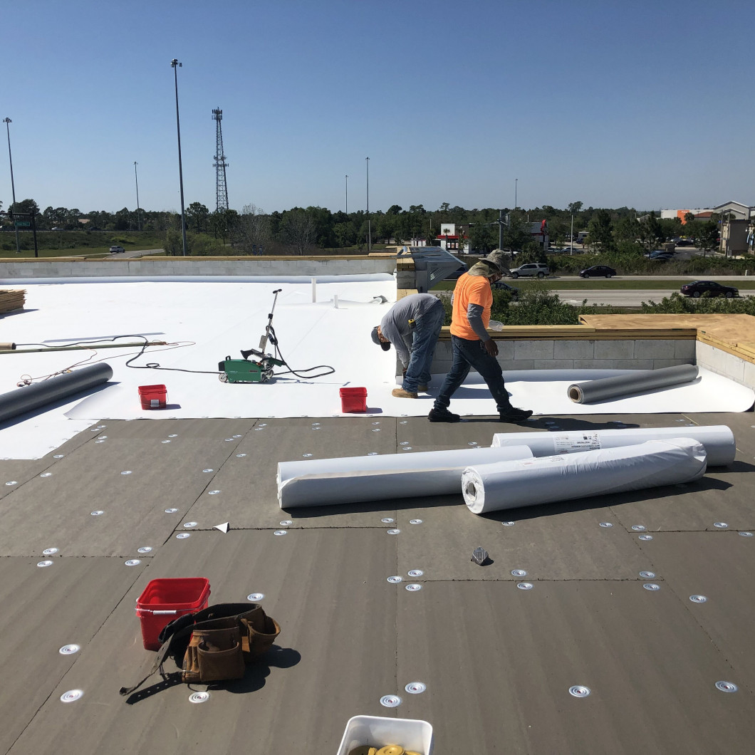 Let us know when you need commercial roof repair services